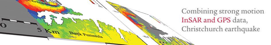Combining strong-motion, InSAR and GPS data to refine the fault geometry and source kinematics of the 2011,Mw 6.2, Christchurch earthquake (New Zealand)